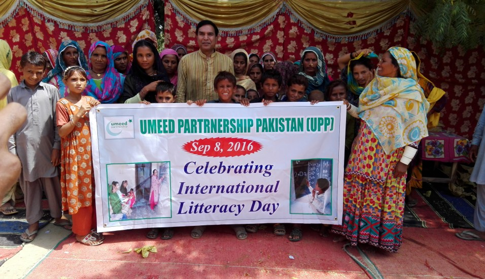Celebrating International Literacy Day