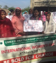 Celebrated International Women's Day 2017 at Nizam Pura Kasur.